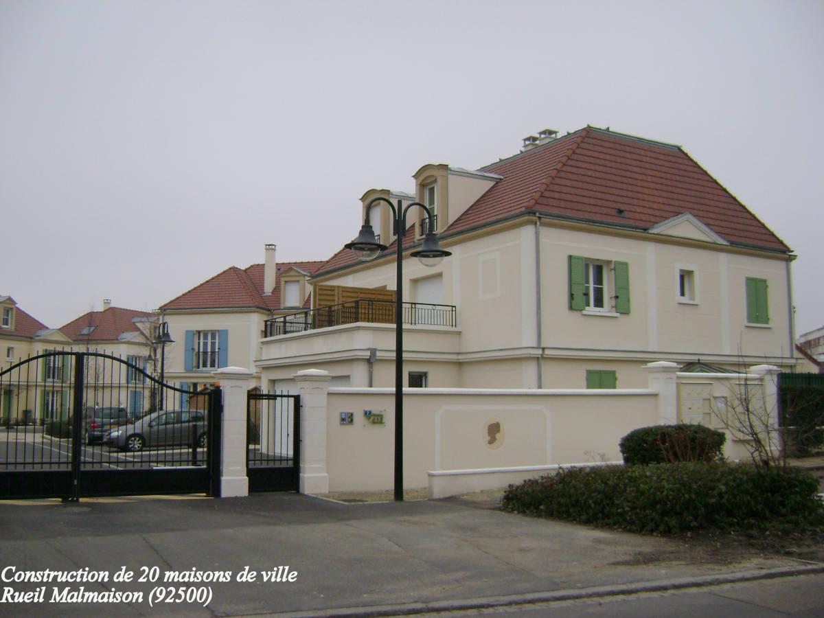 Domaine de l'impératrice à Rueil-Malmaison (92500) - 20 maisons individuelles